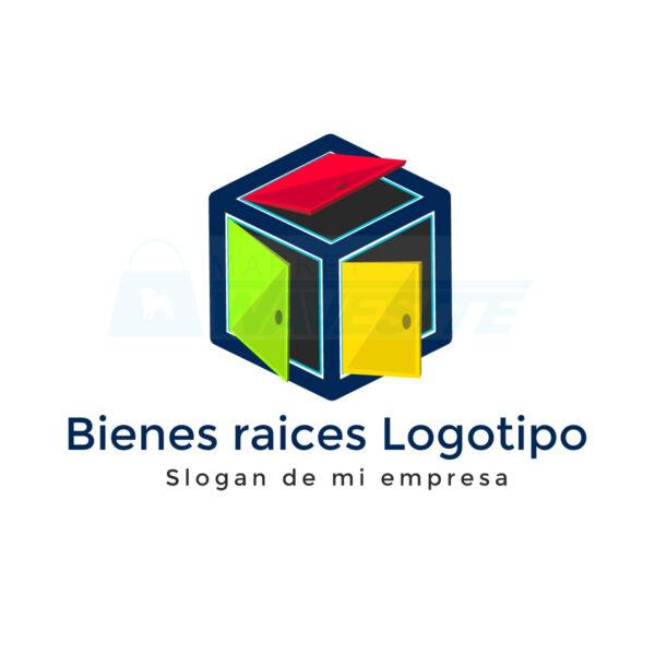 Descarga Bienes raíces Logotipo concepto corporativo