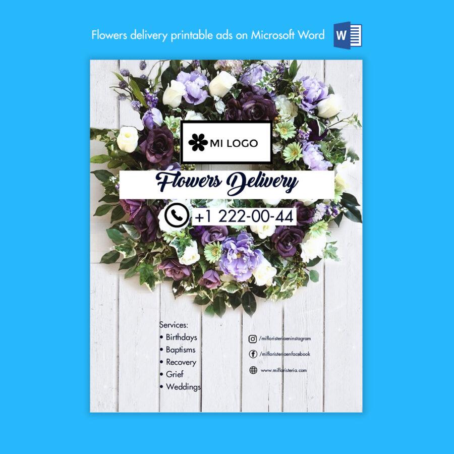 Floristeria-florist-microsoft-word-ad-anuncio-descarga-download