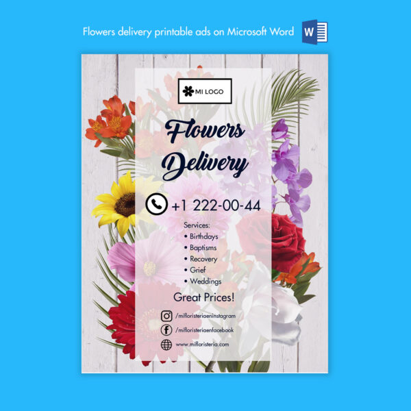 Floristeria-florist-microsoft-word-ad-anuncio-descarga-download