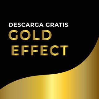 descarga efecto color dorado adobe illustrator golden effect for adobe illustrator